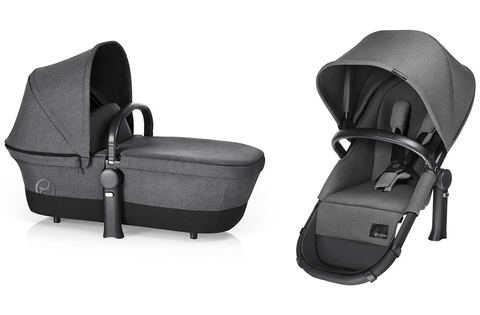 Коляска 2 в 1 Cybex Priam Light Seat RB Manhattan Grey