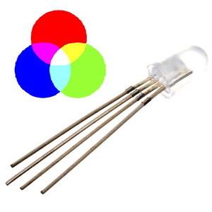 Трехцветный светодиод (общий анод)