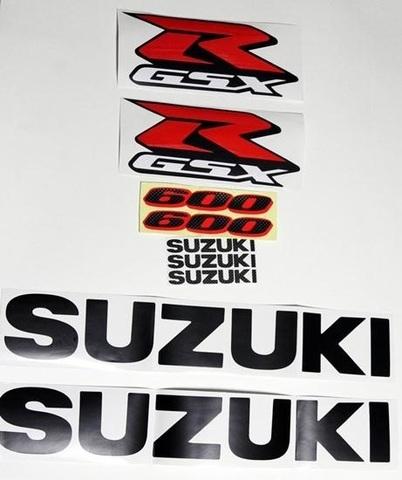 Набор виниловых наклеек Suzuki GSX-R 600