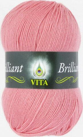 Пряжа Brilliant Vita 4997 персик фото