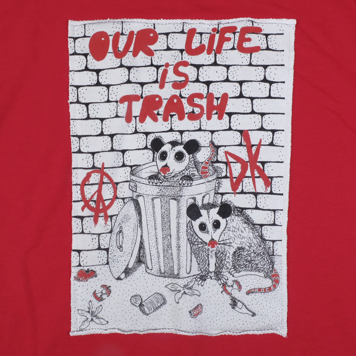 Our life is trash / худи