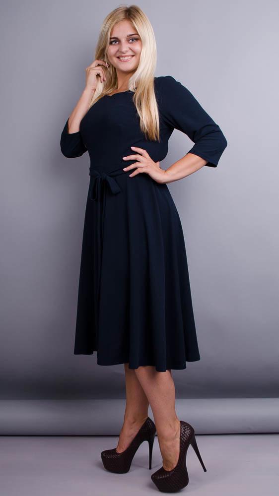 Вечернее платье Кора (синий)