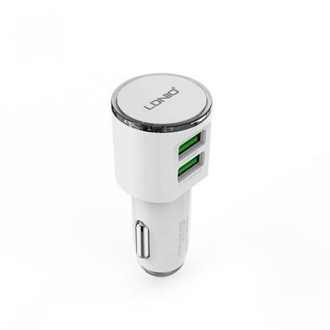 LDNIO Автомобильное зарядное устройство - DL-С29 + micro USB кабель Android