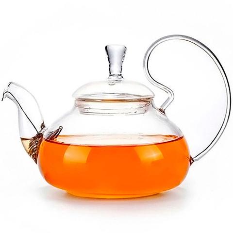 Стеклянный заварочный чайник