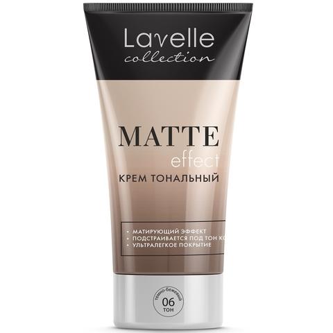 LavelleCollection Крем тональный Matte Effect тон 6 тёмно бежевый FTM-05