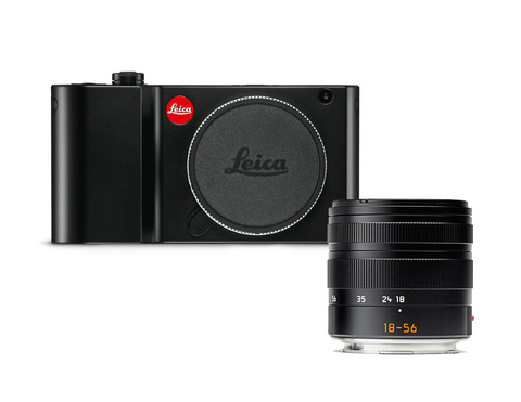 Leica TL2 Kit Vario-Elmar-T 18-56 mm/f3.5-5.6 ASPH Black