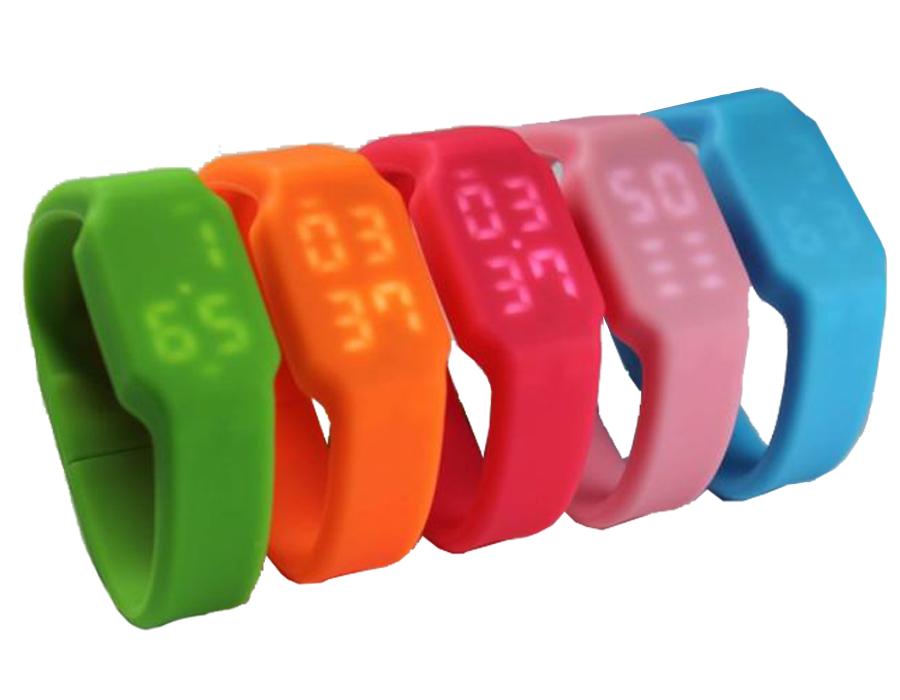 usb-флешка часы силиконовые
