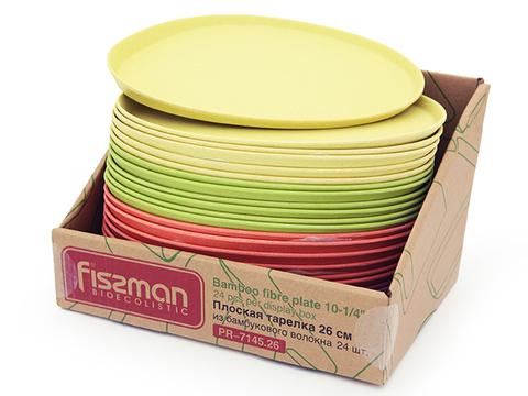 7145 FISSMAN Тарелка плоская 26 см,  купить