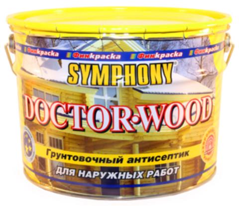 SYMPHONY DOCTOR-WOOD – грунтовочный антисептик на основе льняного масла