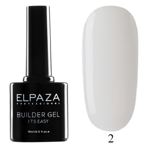 Моделирующий гель Builder Gel it's easy Elpaza, 15ml - 2