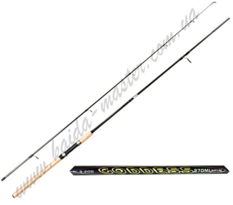Спиннинг Kaida Goddes 2,1 метра, тест 10-30 гр