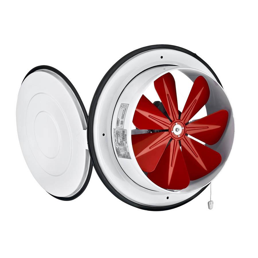 Вентиляторы оконные Осевой приточный оконный вентилятор Bahcivan BK 250 001.jpg