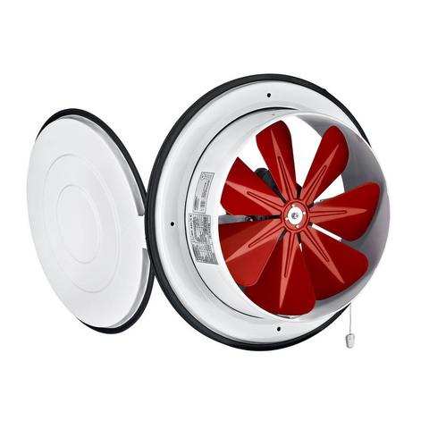 Осевой приточный оконный вентилятор Bahcivan BK 250