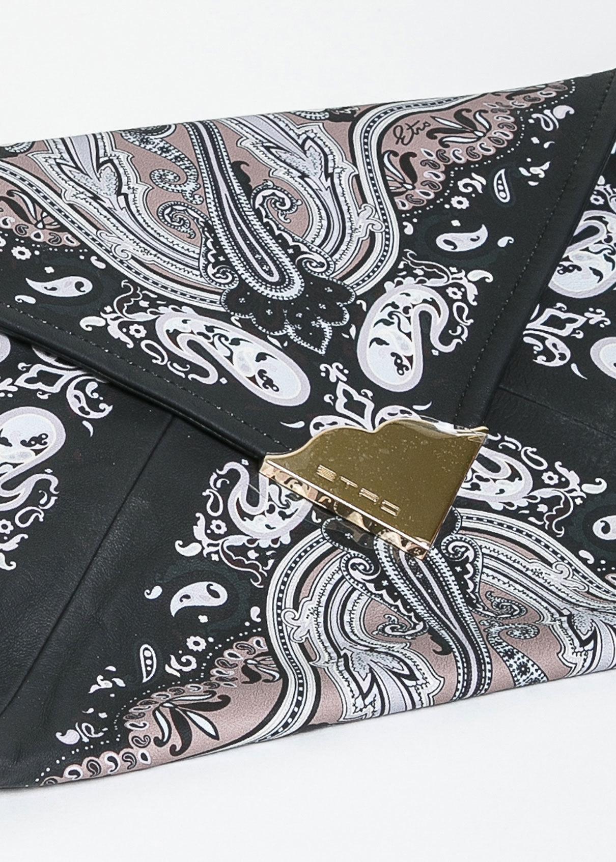 Сумка-конверт из кожи ETRO