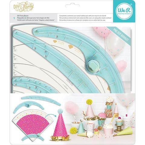 Доска для изготовления декоративных украшений для праздника  We R DIY Party Board