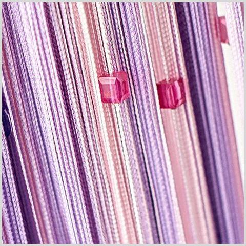 Радуга с кубиками Розовая, сливовая, сирень. Ш-300см., В-280см. Арт.126