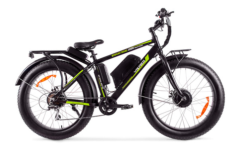 Велогибрид BigCat Dual 1000 c кофром