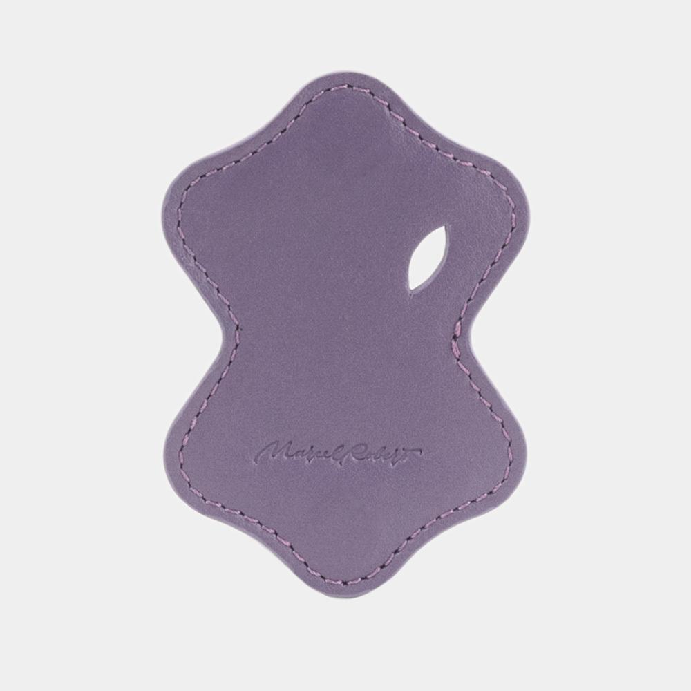 Чехол-держатель для наушников Chapeau Easy из натуральной кожи теленка, фиолетового цвета