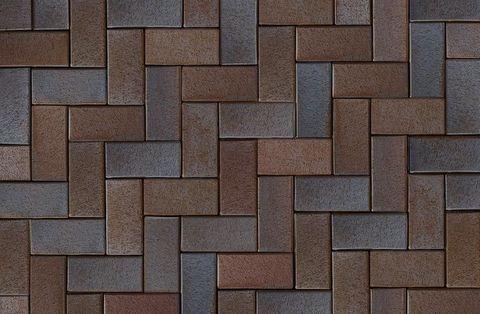 ABC Mitternachtblau, 200x100x52 - Тротуарная клинкерная брусчатка