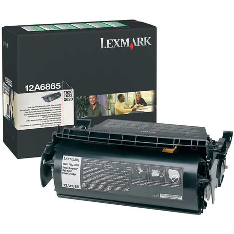 Картридж Lexmark 12A6865 черный