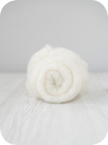 Кардочес тонкий мериносовый (Natural White)