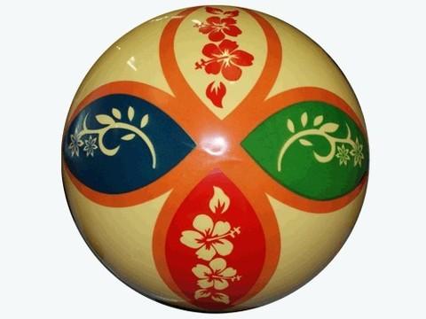 Мячик игровой с орнаментом. Диаметр 25 см: ХС183