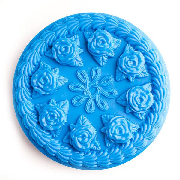 Форма для мыла Торт с розами