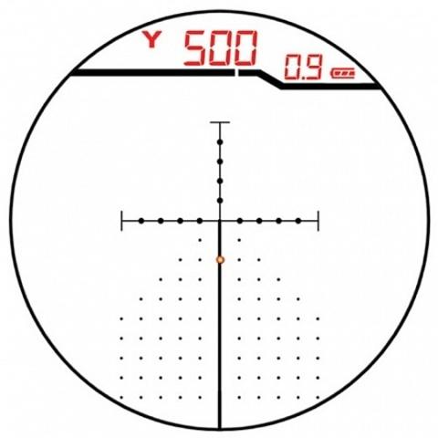 Оптический прицел Burris Laser Eliminator III 4-16X50 с лазерным дальномером (200116)