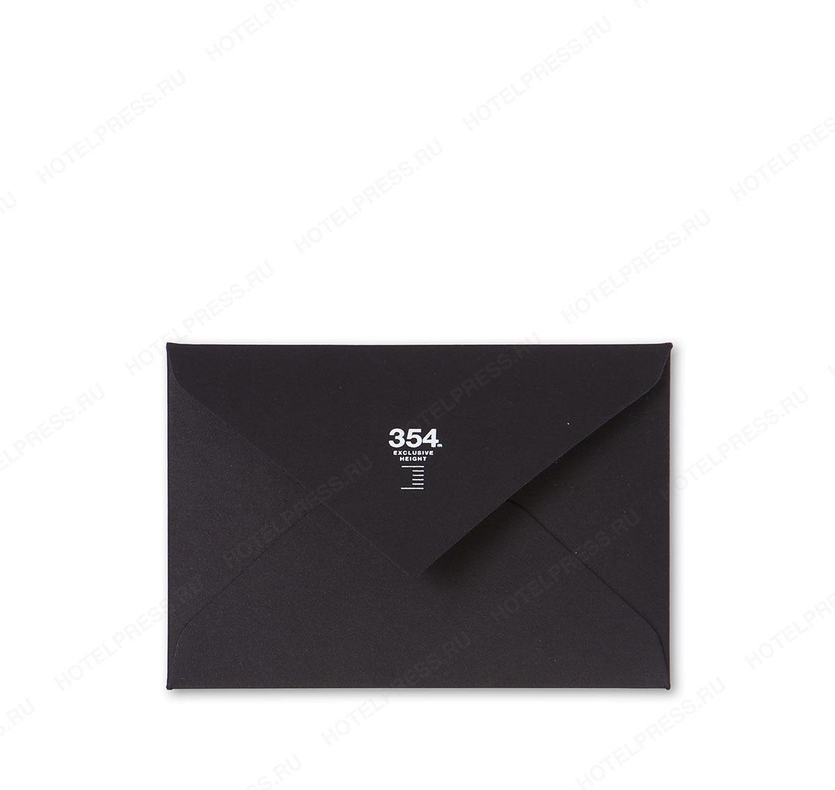 Конверт 95х65 мм для дисконтной карты или визитки