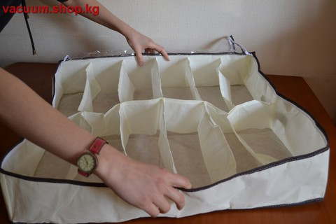 Матерчатый органайзер для хранения обуви