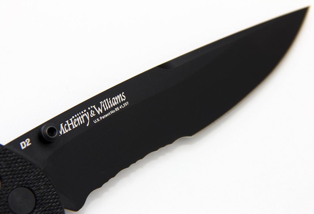 Нож Benchmade BM 710SBKD2 - McHenry & Williams Black - фотография