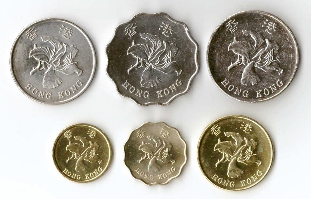 монеты гонконга картинки универсальное растение