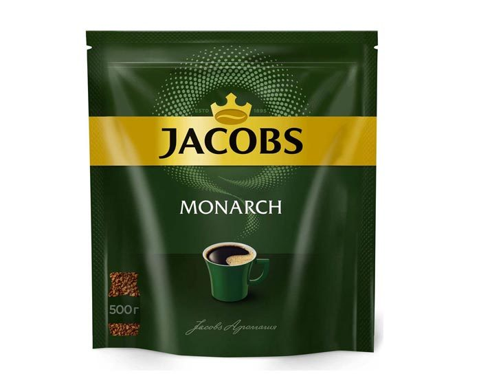 Кофе растворимый Jacobs Monarch, 500 г