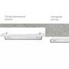 Установки аварийных светильников серии EXIT в потолки из гипсокартона