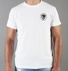 Футболка с принтом FC Manchester City (ФК Манчестер Сити) белая 0011