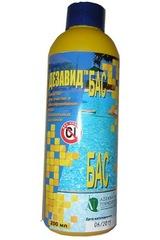 Дезавид БАС - дезинфицирующее средство без запаха для длительного обеззараживания бассейнов 200 мл