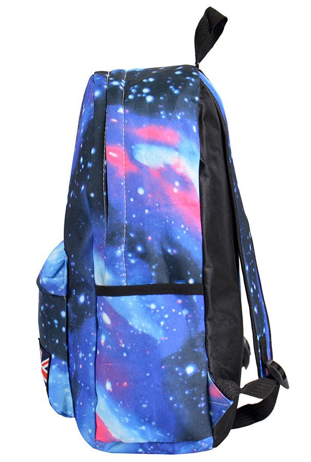 Рюкзак Galaxy синий фото