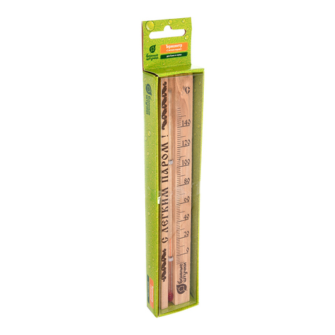 Термометр «С легким паром!» 21x4x1,5 см