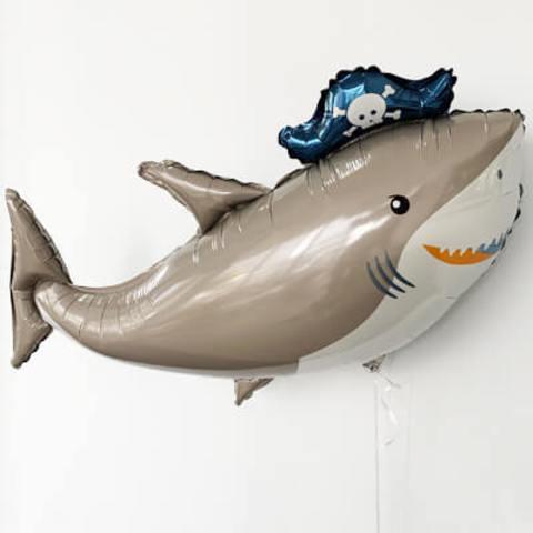 Фигура фольга Акула пират