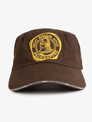 "Dark Brown cap Murom ""Autumn conscription"""