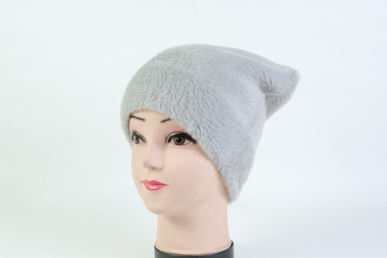 Женская шапка серая SH H8365D