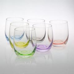 Набор стопок с цветным дном «Rainbow», фото 3