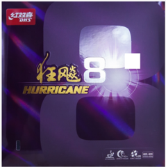 Накладка DHS Hurricane 8 Mid-Hard