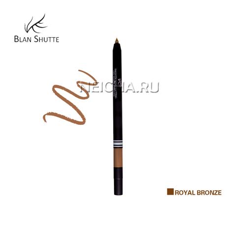 Стойкий гель-карандаш для глаз BS PEARL ROYAL BRONZE