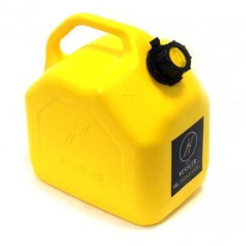 Канистра для ГСМ 10 л желтая KESSLER