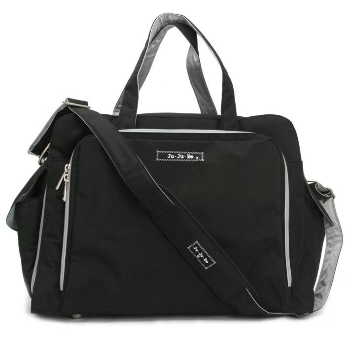 Дорожная сумка Ju-Ju-Be Be Prepared Black Silver