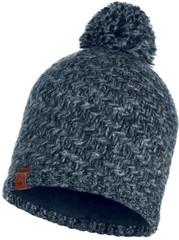 Вязаная шапка с флисовой подкладкой Buff Hat Knitted Polar Agna Black