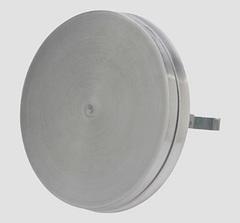 Диффузор шумоподавляющий из нержавеющей стали приточный DEC DVIR 125