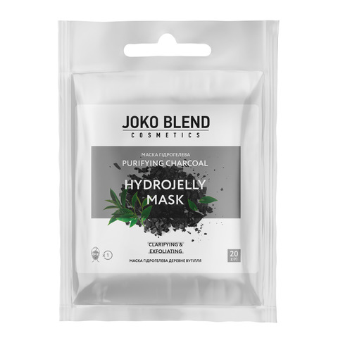 Маска гидрогелевая Purifying Charcoal Joko Blend 20 г (1)
