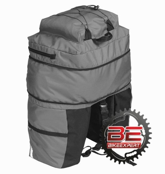 Велосумка-штаны на багажник Course 30-50 литров